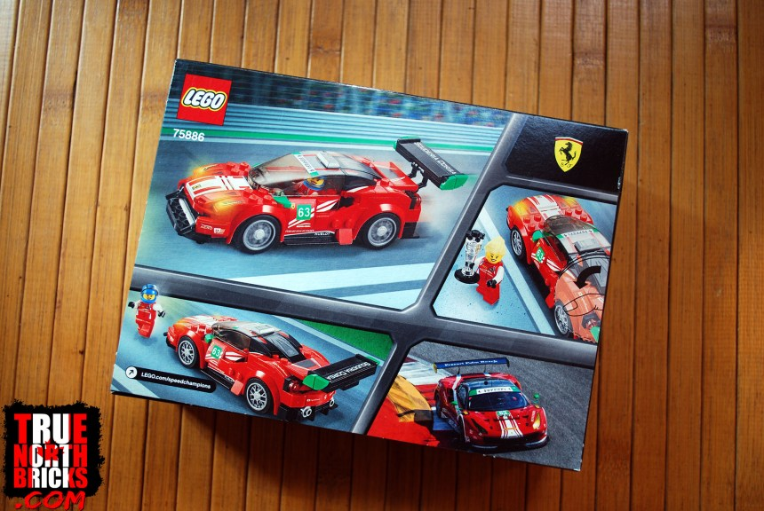 Ferrari 488 GT3 box art