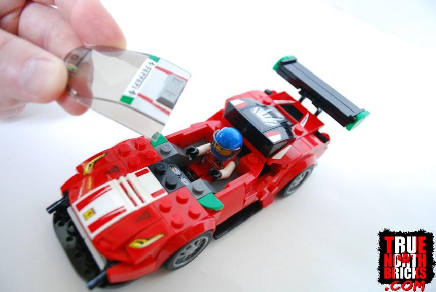 Ferrari 488 GT3 interior access.