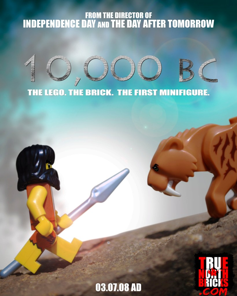 10,000 BC LEGO-fied