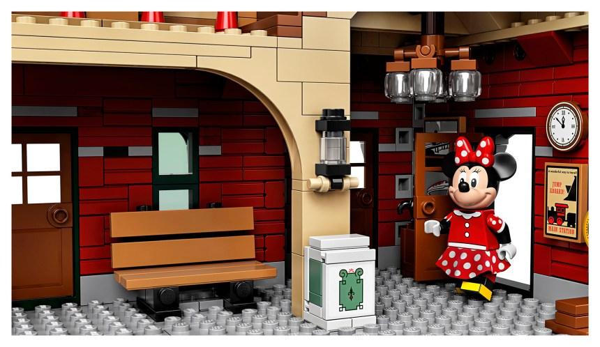 Disney Train Station interior