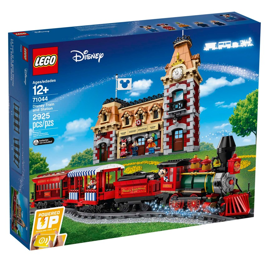 Disney Train and Station front box art