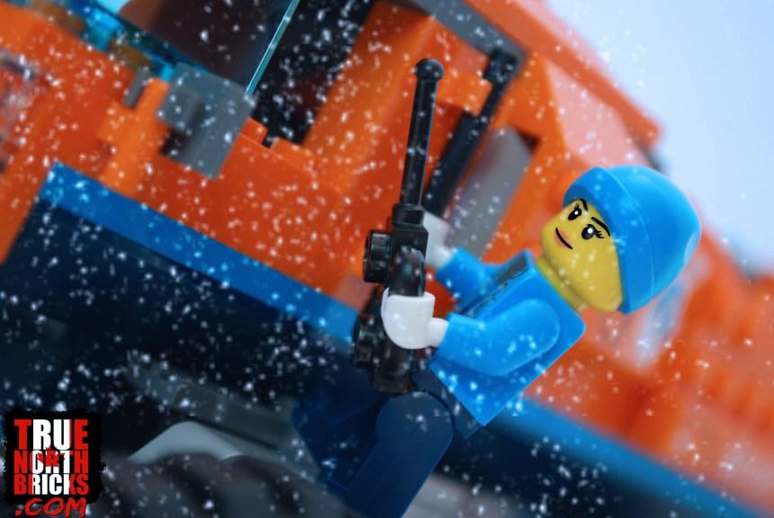 Arctic explorer Minifigure.