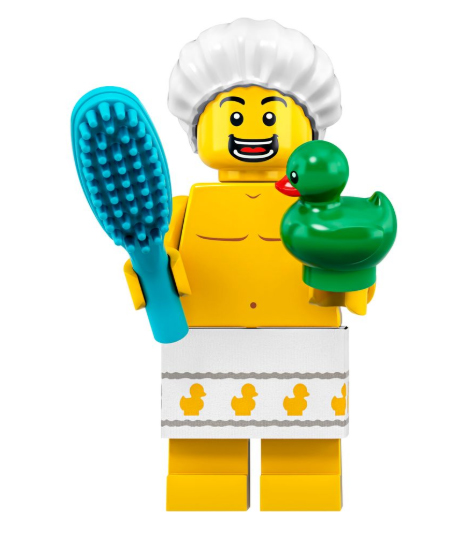 Bathroom Minifigure