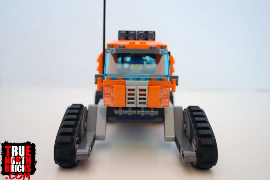 Front view of the Arctic Scout Truck.