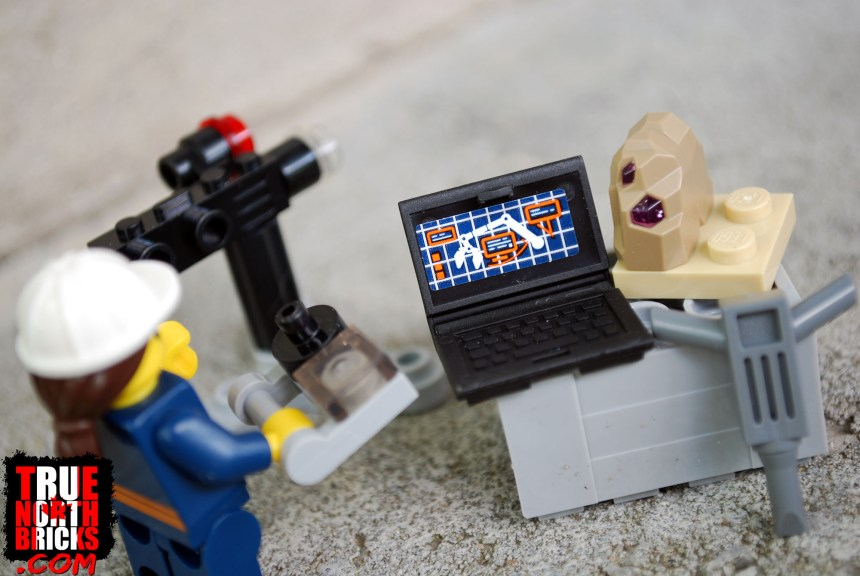 Minifigure and accessories.