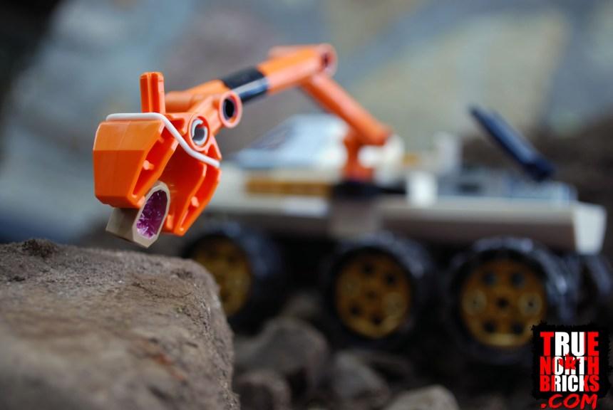 Rover robotic arm.