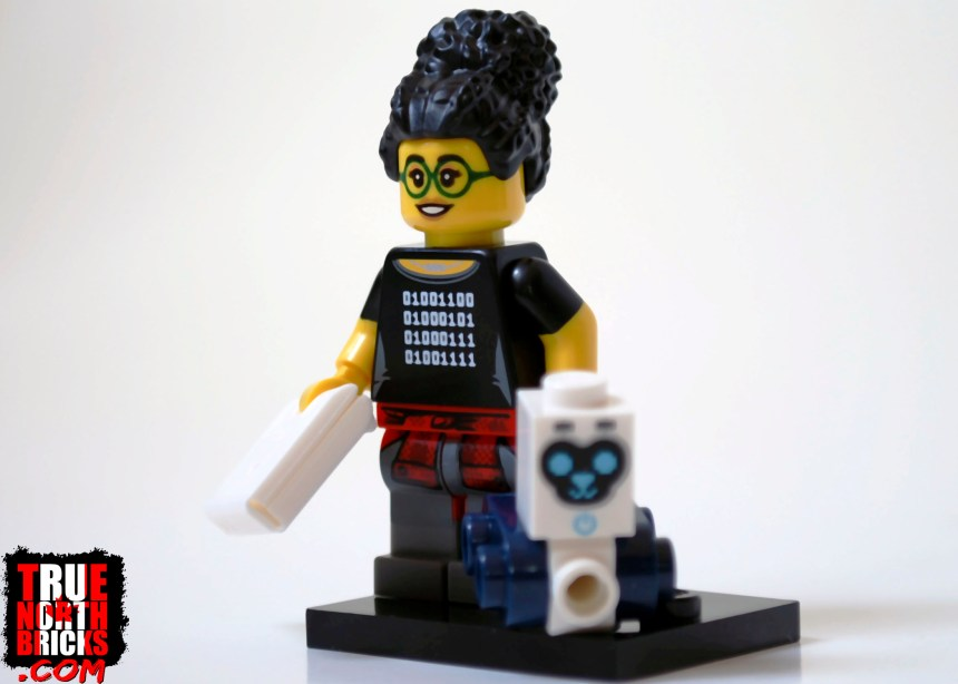 Programmer from Minifigures Series 19.