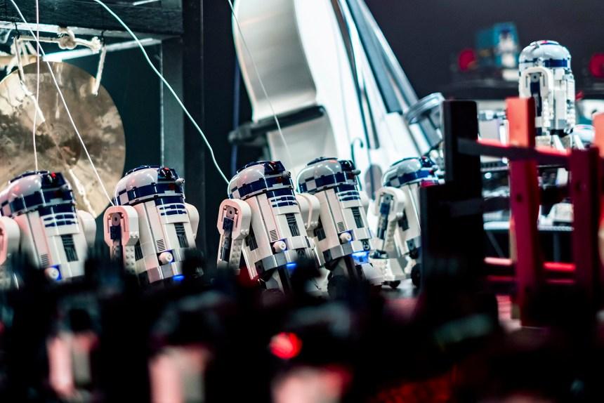R2 units waiting to shine