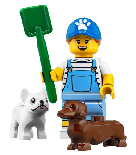 Minifigure Series 19 Dog Sitter