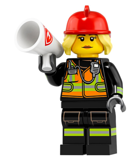 Firefighter Minifigure