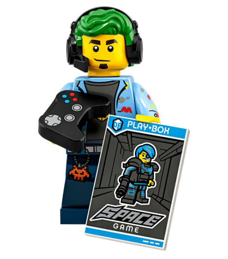 Minifigure Series 19 Gamer