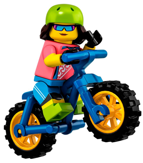 Minifigure Series 19 Mountain Biker