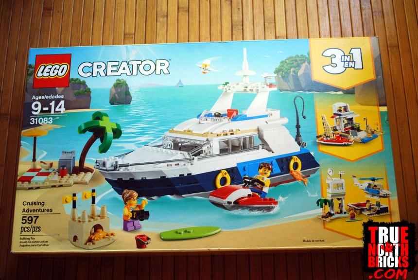 Cruising Adventures (31083) front box art.