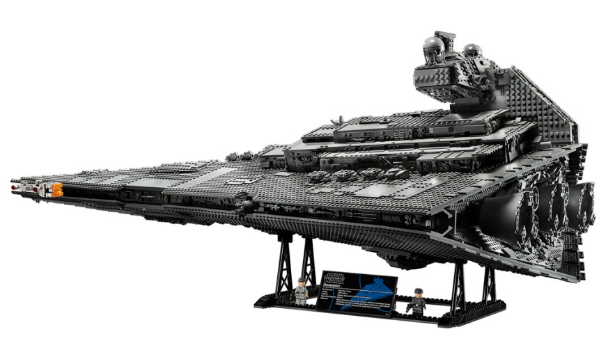 The sixth biggest LEGO® set September 2019, the Imperial Star Destroyer.