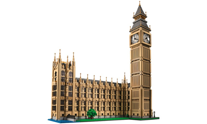 The ninth largest LEGO® set September 2019, Big Ben.