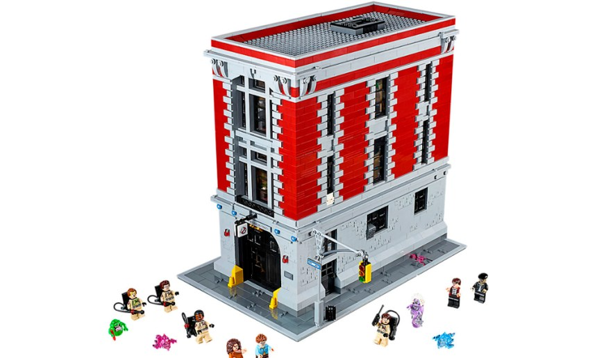 The seventh biggest LEGO® set September 2019, the Ghostbusters Firehouse.