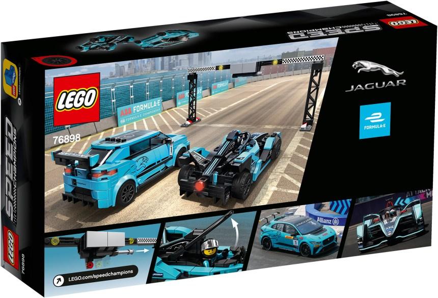 Panasonic Jaguar race cars rear box art.