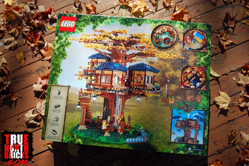 Tree House (21318) rear box art.