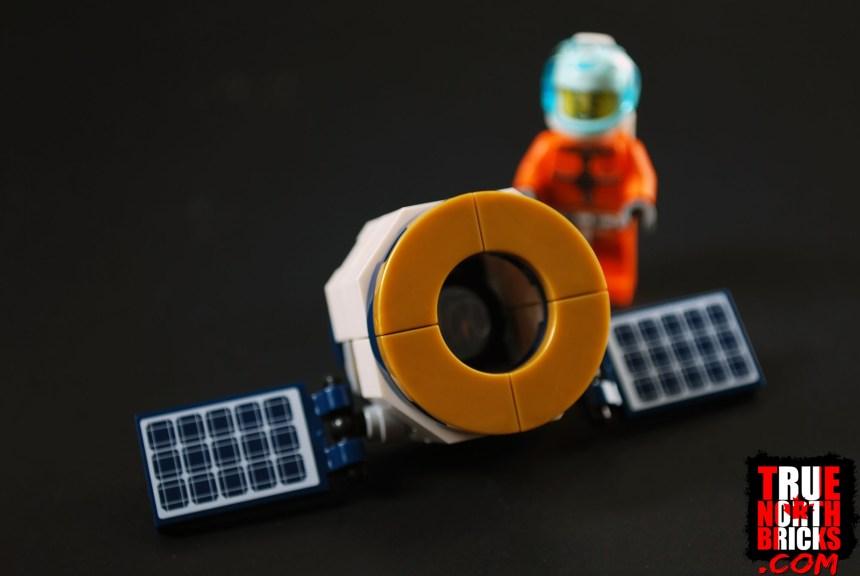 Satellite build.