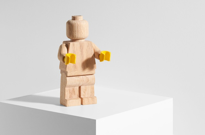Wooden LEGO® Minifigure
