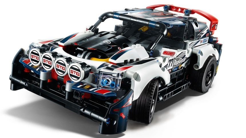 Technic Top Gear Rally Car.