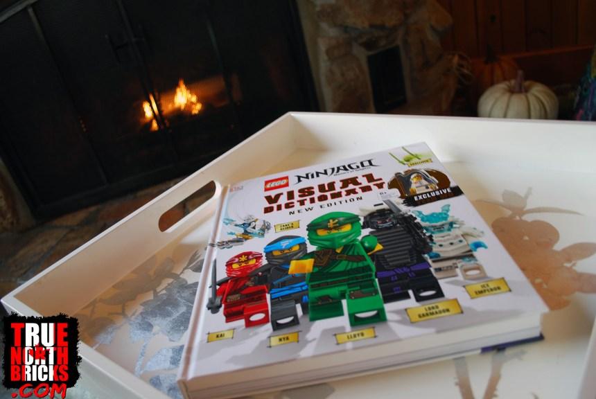 Ninjago Visual Dictionary cover.