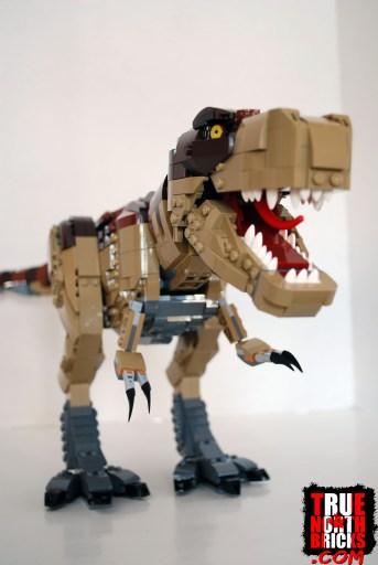 LEGO built T. rex