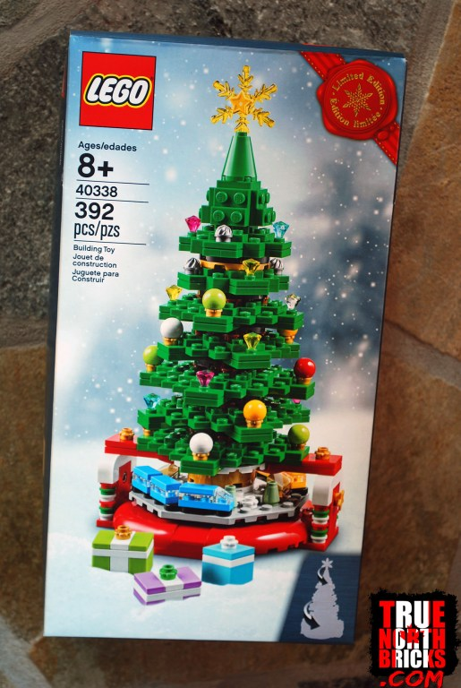 November 2019 haul LEGO Christmas Tree freebie.