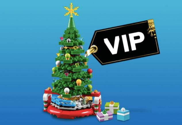 LEGO® Store VIP weekend Christmas Tree freebie