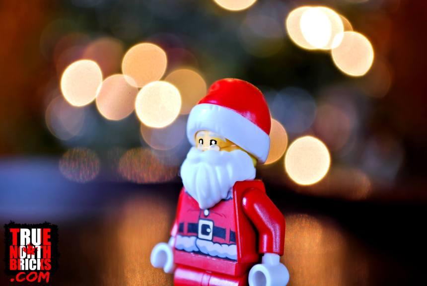 2019 City Advent Calendar Santa Minifigure.