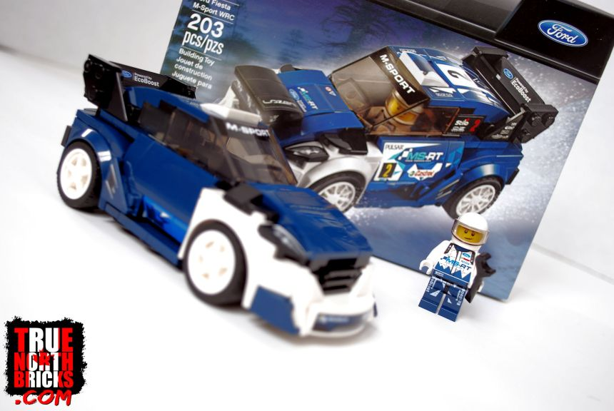 Ford Fiesta (75885) box contents.