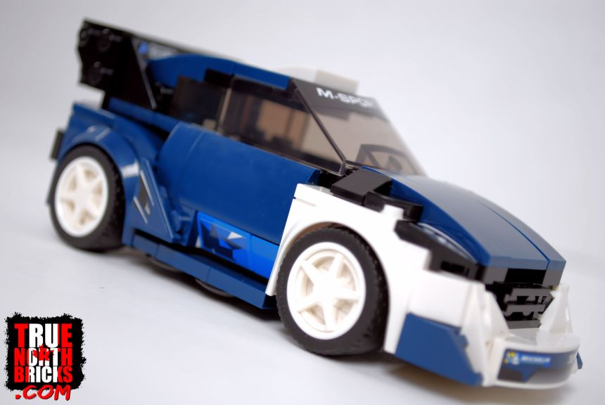 Ford Fiesta (75885) side view.