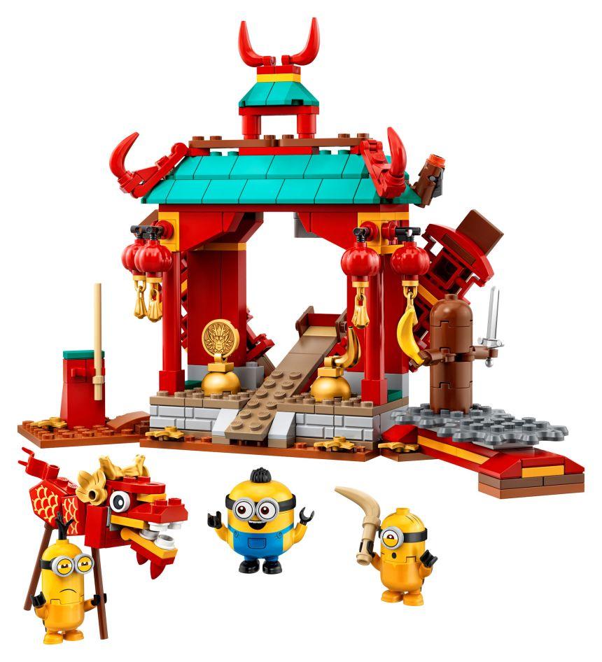 Minions Kung-Fu Battle set
