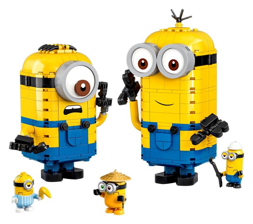 Brick Built Minions and their Lair set