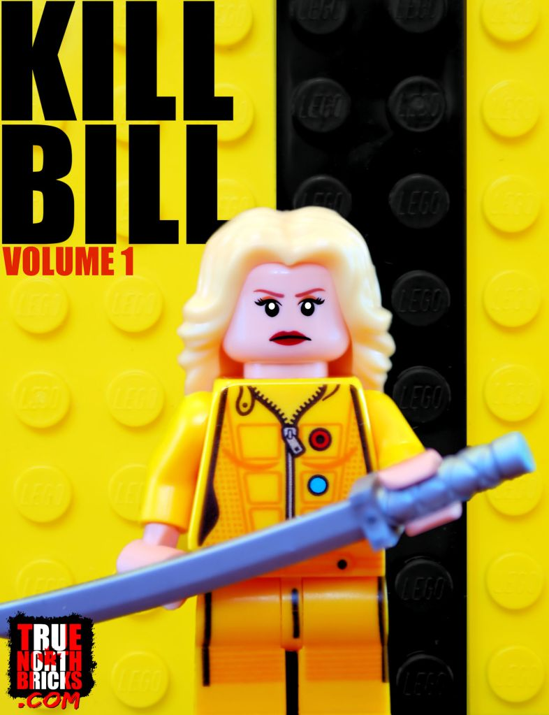 Vengeance (Minifigure Monday) was inspired by Kill Bill and the Gamer's Market Harumi outfit from Ninjago.