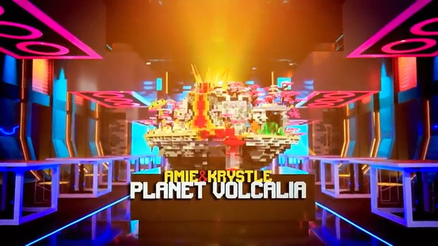 Krystle and Amie: Planet Volcania from Space Smash