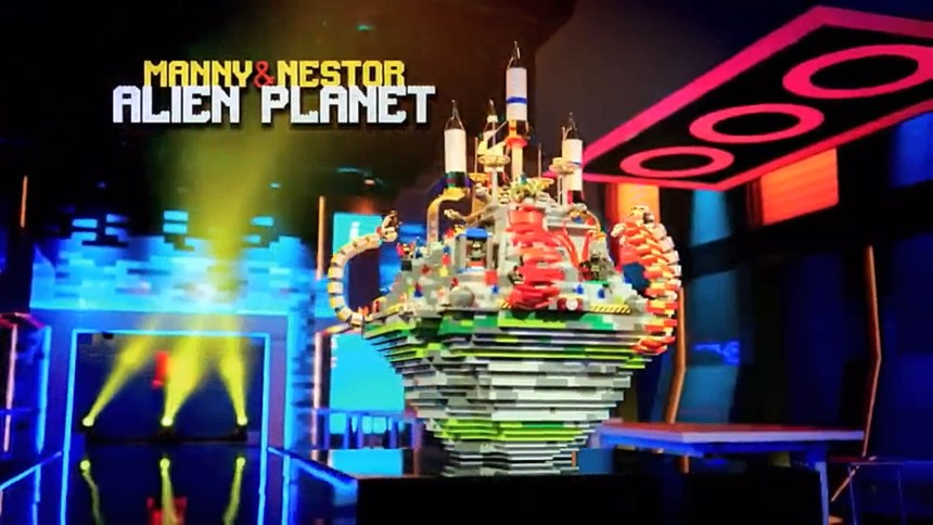 Manny and Nestor: Alien Planet from Space Smash