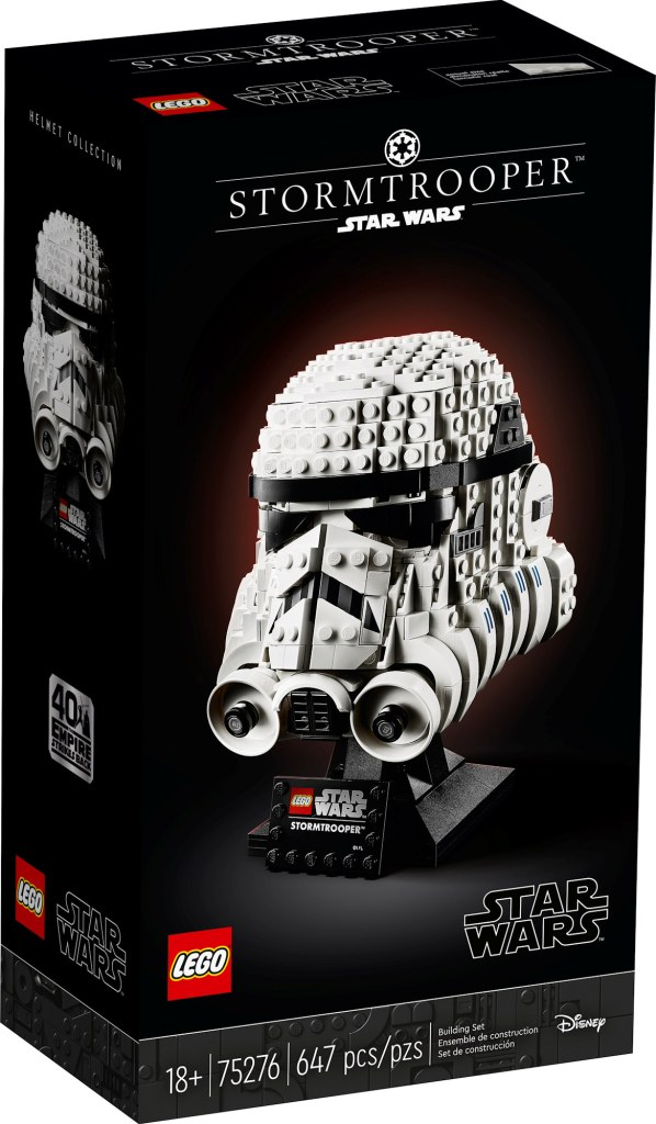 Stormtrooper helmet front box art