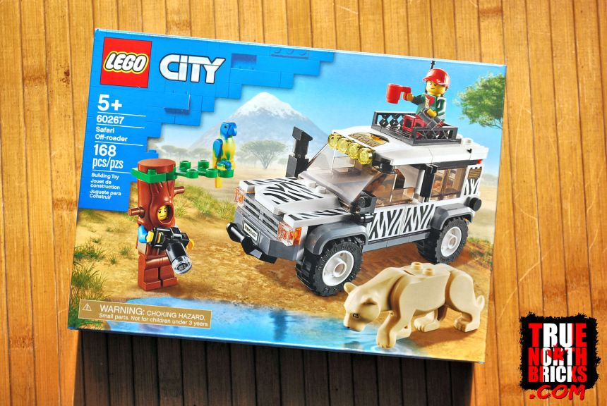 Safari Off-roader (60267) front box art.