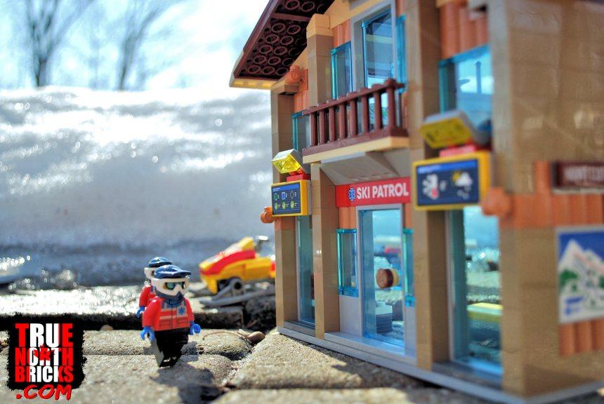 Ski patrol chalet.