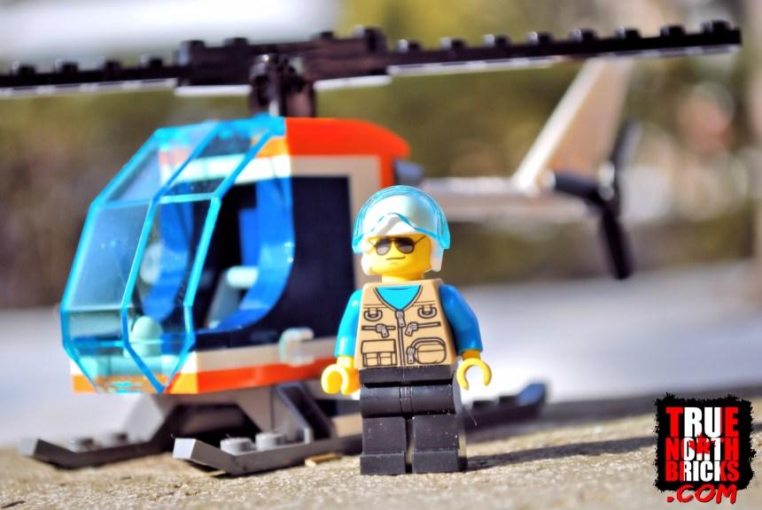 Ski Resort Helicopter.
