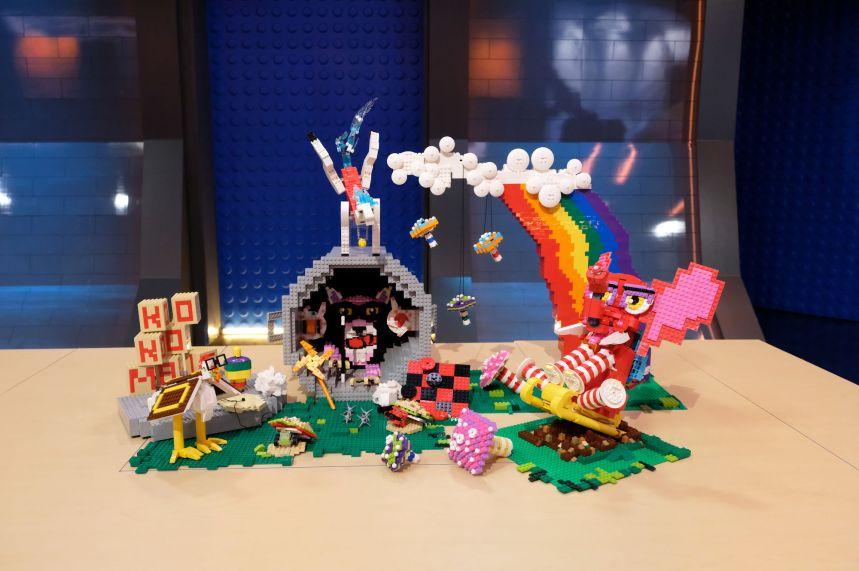 Sam and Jessica's land of Koo-Koo Magic on Storybook (LEGO® Masters).