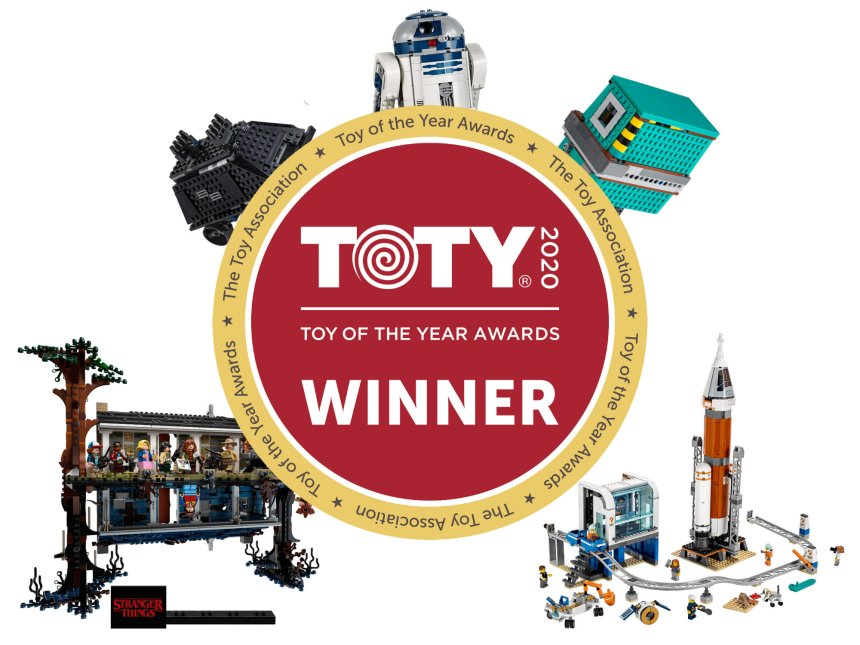 The LEGO® Group flies at the Toy of the Year Awards.