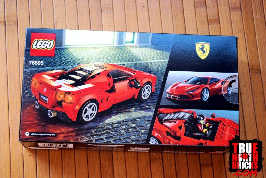 Ferrari F8 Tributo rear box art.