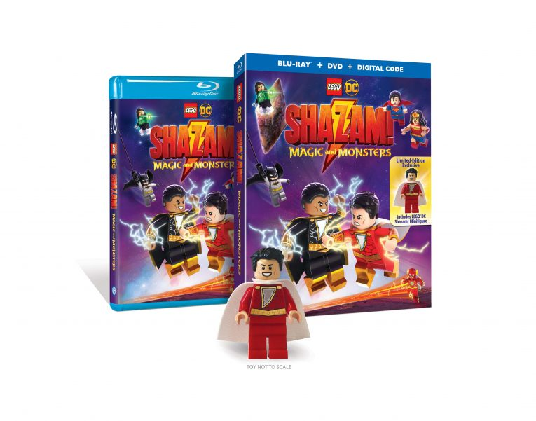 LEGO Shazam Movie coming soon.