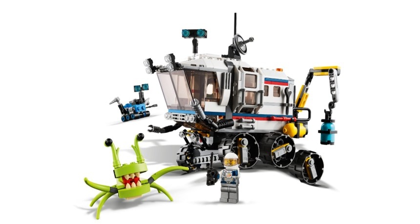 Summer 2020 Creator 3-in-1 Space Rover Explorer