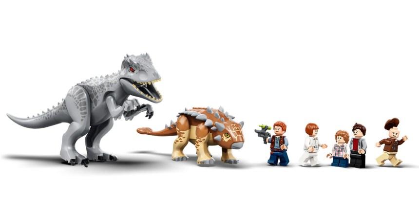 Summer 2020 Indominus rex vs Ankylosaurus