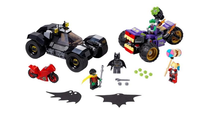 Summer 2020 Superheroes Joker's Trike Chase