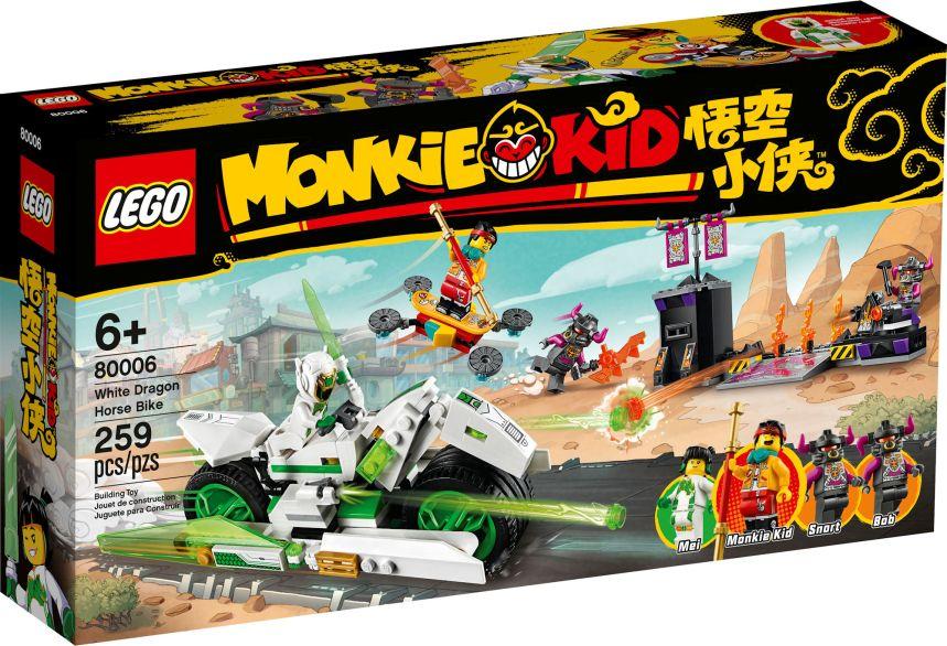Monkey Kid sets: White Dragon Horse Bike