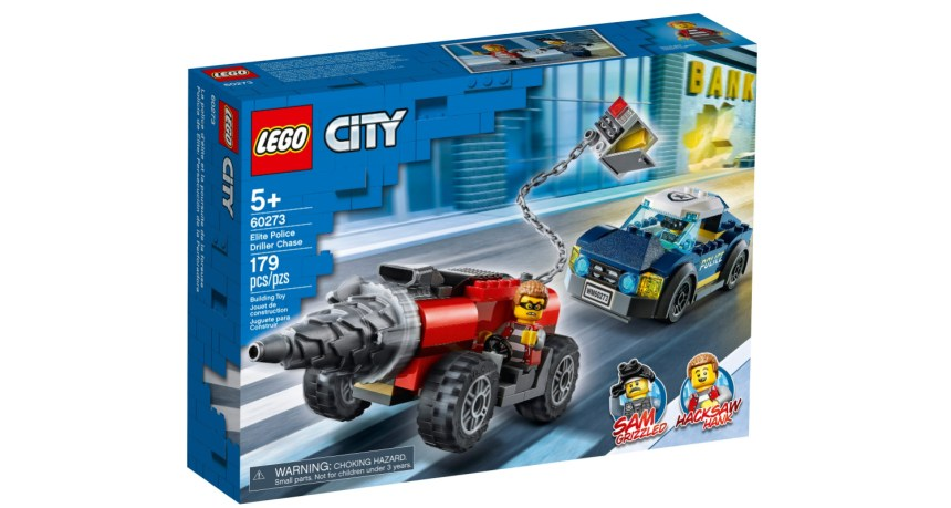 September 2020 set: Elite Police Driller Chase (60273)